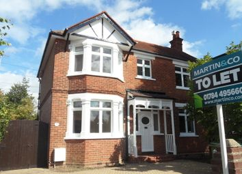 Thumbnail 3 bed detached house to rent in Greenlands Road, Staines