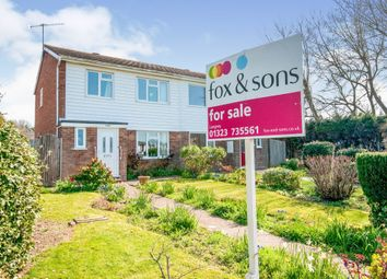 Thumbnail 3 bed semi-detached house for sale in Sandpiper Walk, Eastbourne