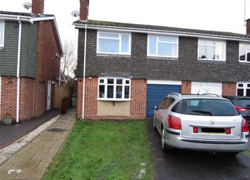 Thumbnail 3 bed semi-detached house for sale in Hawthorn Close, Wolston, Coventry
