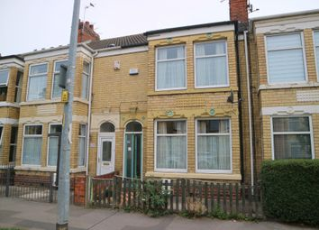 Thumbnail 3 bed terraced house for sale in Southcoates Avenue, Hull, North Humberside