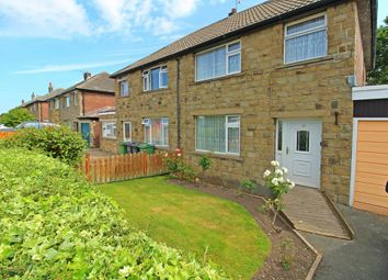 Thumbnail 3 bedroom semi-detached house for sale in Moorside Road, Honley, Holmfirth