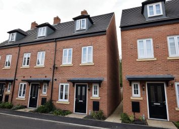 Thumbnail 3 bed semi-detached house for sale in Coleridge Way, Oakham