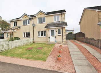 Thumbnail 3 bed semi-detached house for sale in Carmuir, Forth, Lanark