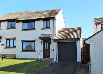 Thumbnail 3 bedroom semi-detached house for sale in Primrose Close, Goldsithney, Penzance