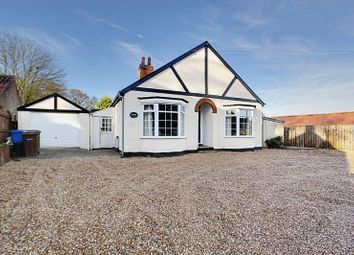 Thumbnail 3 bed detached bungalow for sale in Main Street, Sigglesthorne, Hull