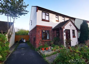 Thumbnail 2 bed semi-detached house for sale in Nightingale Close, Torquay