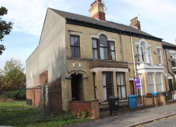Thumbnail End terrace house for sale in Louis Street, Hull