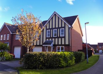 Thumbnail 4 bed detached house to rent in Mainwaring Close, Stapeley, Nantwich