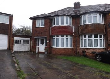 Thumbnail 3 bedroom semi-detached house to rent in Bourne Close, Yardley Wood, Birmingham