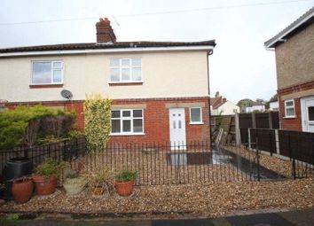 Thumbnail 2 bedroom semi-detached house for sale in Bellville Crescent, Norwich