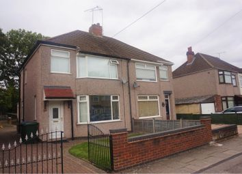 Thumbnail 3 bed semi-detached house for sale in Rothesay Avenue, Coventry