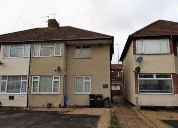Thumbnail 2 bed flat to rent in Gilda Close, Bristol