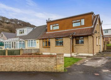 Thumbnail 4 bed semi-detached house for sale in Whiterock Avenue, Pontypridd