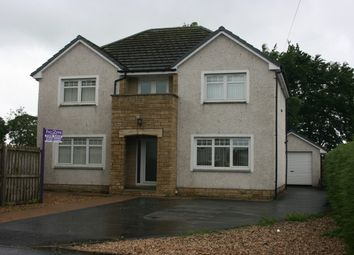 Thumbnail 4 bed detached house for sale in Old School Road, Law, Carluke