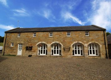 Thumbnail 4 bedroom cottage to rent in The Granary Mill Farm, Mitford, Morpeth