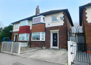 Thumbnail 3 bedroom semi-detached house for sale in Siddington Avenue, Stockport, Stockport