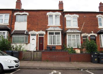 Thumbnail 2 bed terraced house for sale in Paddington Road, Handsworth, Birmingham