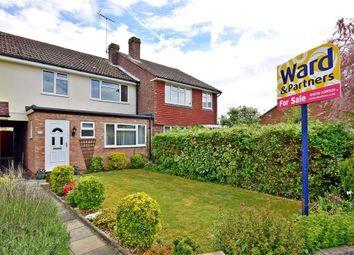 Thumbnail 3 bed terraced house for sale in Grasmere Road, Kennington, Ashford, Kent