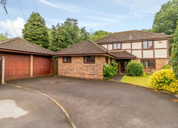 Thumbnail 4 bed detached house for sale in Fairwater Drive, New Haw, Addlestone