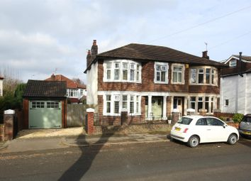 Thumbnail 3 bed property for sale in Waungron Road, Llandaff, Cardiff