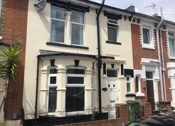 Thumbnail 3 bedroom terraced house to rent in Preston Road, Portsmouth