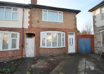 Thumbnail 3 bed town house for sale in Clevedon Crescent, Northfields, Leicester