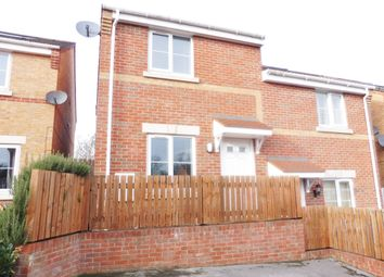 Thumbnail 2 bed semi-detached house for sale in Ebor Close, Wombwell