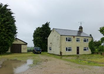 Thumbnail 4 bedroom farmhouse for sale in White Lion Farm, Cants Drove, Murrow, Wisbech, Cambridgeshire