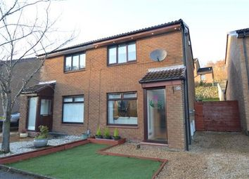 Thumbnail 2 bed semi-detached house for sale in Meadowburn Avenue, Lenzie, Glasgow