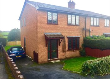 Thumbnail 3 bed semi-detached house for sale in Cilnant, Mold, Flintshire.