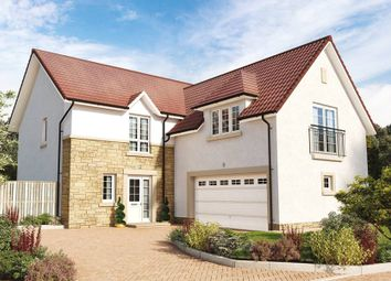 "Thumbnail 5 bed detached house for sale in ""The Dewar"" at Hillview Gardens, Nivensknowe Park, Loanhead"