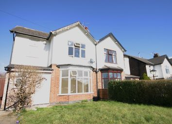 Thumbnail 3 bed semi-detached house to rent in Uttoxeter Road, Mickleover, Derby, Derbyshire