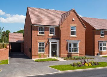 "Thumbnail 4 bed detached house for sale in ""Holden"" at Burnby Lane, Pocklington, York"