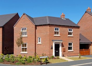 "Thumbnail 3 bed detached house for sale in ""Fairway"" at Atherstone Road, Measham, Swadlincote"