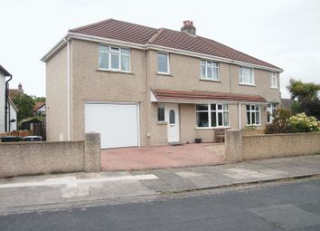 Thumbnail 5 bed semi-detached house for sale in Brantwood Avenue, Bare, Morecambe