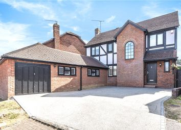 Thumbnail 4 bed detached house for sale in Princes Way, Bagshot, Surrey