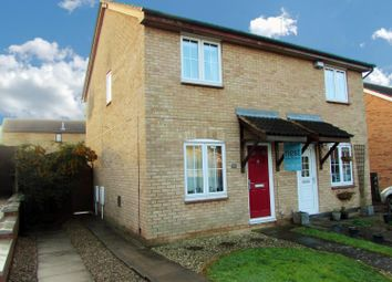 Thumbnail 2 bed semi-detached house for sale in Meadow Court, Narborough, Leicester