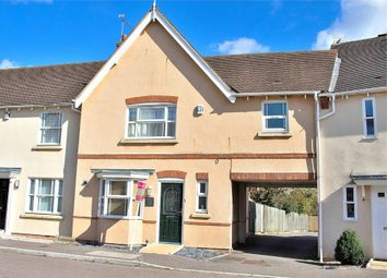 Thumbnail 3 bed terraced house for sale in Hallett Road, Flitch Green, Dunmow