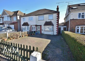 Thumbnail 3 bed semi-detached house for sale in Chalgrove Crescent, Clayhall, Ilford