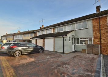 Thumbnail 4 bed terraced house for sale in Croasdaile Road, Stansted
