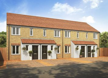 "Thumbnail 2 bed end terrace house for sale in ""The Alnwick"" at Plover Road, Stanway, Colchester"