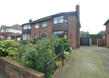 Thumbnail 3 bed semi-detached house for sale in Hollow Drive, Stockton Heath, Warrington