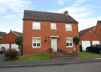 Thumbnail 4 bed detached house for sale in Ten Shilling Drive, Coventry