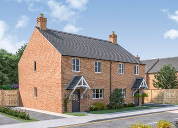 Thumbnail 3 bed semi-detached house for sale in Leicester Lane, Great Bowden, Market Harborough