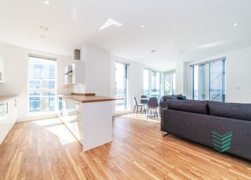 Thumbnail 3 bed flat for sale in Chatham Waters, Gillingham