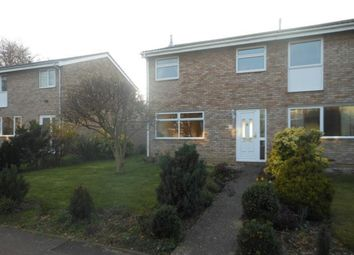 Thumbnail 3 bed semi-detached house to rent in Westdale Walk, Kempston