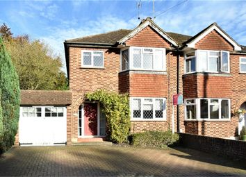 Thumbnail 3 bed semi-detached house for sale in Chillingham Way, Camberley, Surrey