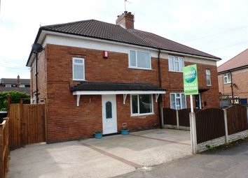 Thumbnail 4 bed semi-detached house for sale in Lindley Street, Newthorpe, Nottingham