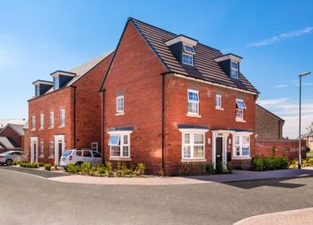 "Thumbnail 4 bed detached house for sale in ""Hertford"" at Bayswater Square, Stafford"