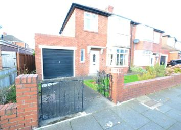 Thumbnail 3 bed semi-detached house for sale in Cleveland Gardens, High Heaton, Newcastle Upon Tyne